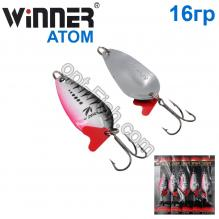 Блесна Winner колебалка W-007 ATOM 16g 006# *