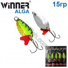Блесна Winner колебалка W-031 ALGA 15g 031# *