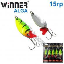 Блесна Winner колебалка W-031 ALGA 15g 039# *