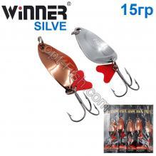 Блесна Winner колебалка W-034 SILVE 15g 035# *