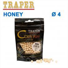 Воздушное тесто Traper Corn puff пуфи 4mm honey (мёд)