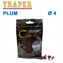 Воздушное тесто Traper Corn puff пуфи 4mm plum (слива)
