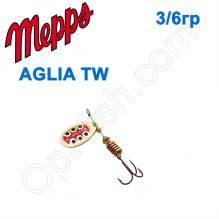 Блесна  Mepps AGLIA TW  zlota gold 3/6g