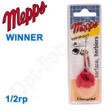 Блесна  Mepps WINNER srebrny silver 1/2g