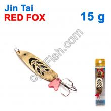 Блесна незацепляйка (тройник) Jin Tai Red Fox 6027-26 15g 02