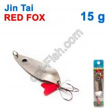 Блесна незацепляйка (тройник) Jin Tai Red Fox 6027-15 15g 01