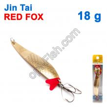 Блесна незацепляйка (тройник) Jin Tai Red Fox 6027-35 18g 02