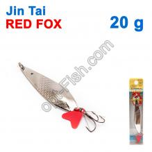 Блесна незацепляйка (тройник) Jin Tai Red Fox 6027-14 20g 01