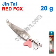 Блесна незацепляйка (тройник) Jin Tai Red Fox 6027-35 20g 01