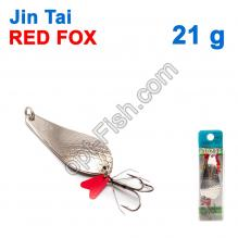 Блесна незацепляйка (тройник) Jin Tai Red Fox 6027-38 21g 01