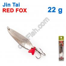 Блесна незацепляйка (тройник) Jin Tai Red Fox 6027-37 22g 01