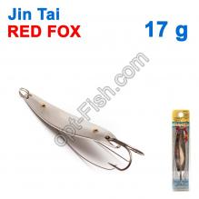 Блесна незацепляйка (двойник) Jin Tai Red Fox 6009-05S 17g 01