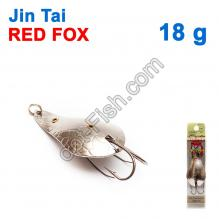 Блесна незацепляйка (двойник) Jin Tai Red Fox 6009-13S 18g 01