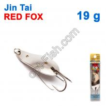 Блесна незацепляйка (двойник) Jin Tai Red Fox 6009-09S 19g 01