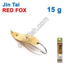 Блесна незацепляйка (одинарный крючок) Jin Tai Red Fox 6009-14D 15g 02