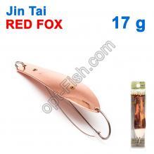 Блесна незацепляйка (одинарный крючок) Jin Tai Red Fox 6009-08D 17g 03