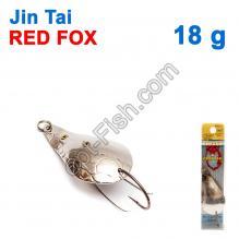 Блесна незацепляйка (одинарный крючок) Jin Tai Red Fox 6009-13D 18g 01