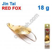 Блесна незацепляйка (одинарный крючок) Jin Tai Red Fox 6009-13D 18g 02
