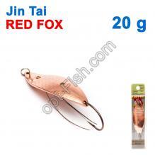 Блесна незацепляйка (одинарный крючок) Jin Tai Red Fox 6009-06D 20g 03