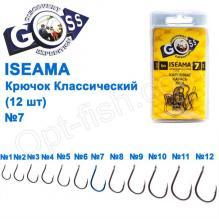 Крючок Goss Iseama Классический (12шт) 10071 BN № 7