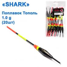Поплавок Shark Тополь T2-10B0402 (20шт)