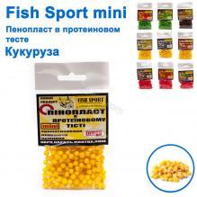 Пенопласт в протеиновом тесте Fish Sport mini (кукуруза)
