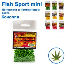 Пенопласт в протеиновом тесте Fish Sport mini (конопля)