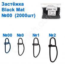 Застежка WL-100050 black mat (2000шт) №00