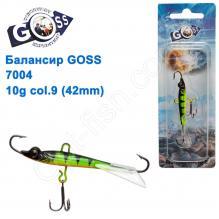 Балансир Goss 7004 10g col. 9 (42mm)