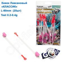 Кивок лавсановый Goss Классик K-80-175 (0,2-0,4g) (25шт)
