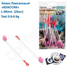 Кивок лавсановый Goss Классик K-80-190 (0,6-0,9g) (25шт)