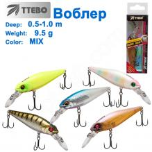 Воблер Ttebo M-MS80M (0,5-1m) 9,5g MIX