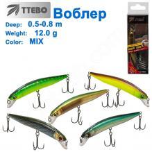 Воблер Ttebo M-LA90 (0,5-0,8m) 12g MIX