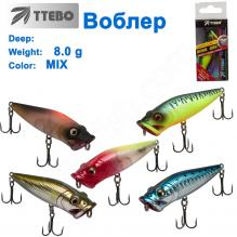 Воблер Ttebo P-RE65 8g MIX