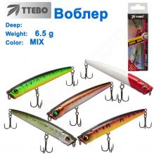 Воблер Ttebo P-BK85 6,5g MIX