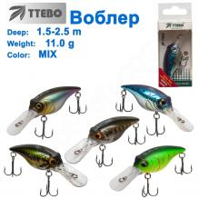 Воблер Ttebo С-BUL52 (1,5-2,5m) 11g MIX