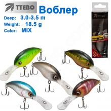 Воблер Ttebo S-PD65 (3-3,5m) 18,5g MIX