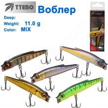 Воблер Ttebo X-TB80 11g MIX