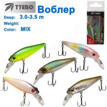 Воблер Ttebo M-MS55 (3-3,5m) MIX