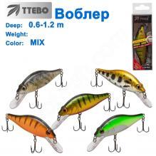 Воблер Ttebo S-CRC90 (0,6-1,2m) MIX