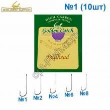 Крючок GC фиолетовый Bullhead №1 (10шт) 5520501 *