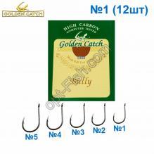 Крючок GC коричневый Bully №1 (12шт) 5547101 *