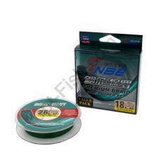 Шнур NBE Premium Braid 100% Super PE 18LB (0,15мм 8кг 125м) *