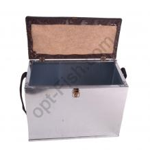 Ящик зимний оцинкованый с мягкой крышкой