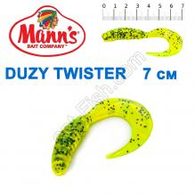 Силикон Manns Duzy Twister CHP-038-70мм (20шт)