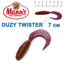 Силикон Manns Duzy Twister EV-038-70мм (20шт)