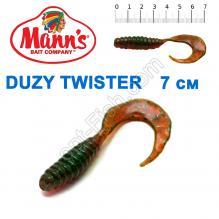 Силикон Manns Duzy Twister GNFMO-038-70мм (20шт)