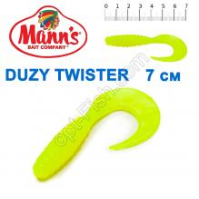 Силикон Manns Duzy Twister GRGB-038-70мм (20шт)