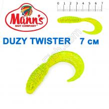 Силикон Manns Duzy Twister MFCH-038-70мм (20шт)