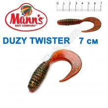 Силикон Manns Duzy Twister MFMO-038-70мм (20шт)